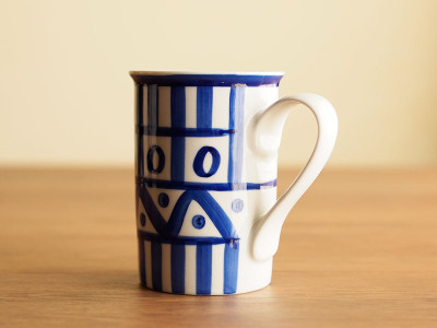 DANSK/アラベスク マグカップ