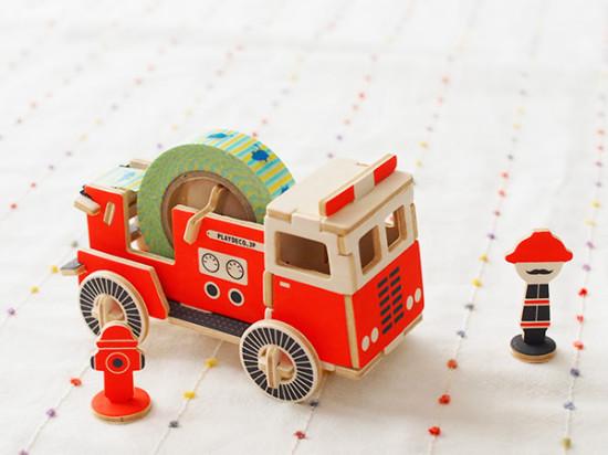 工作おもちゃ FIRE TRUCK/twelvetone