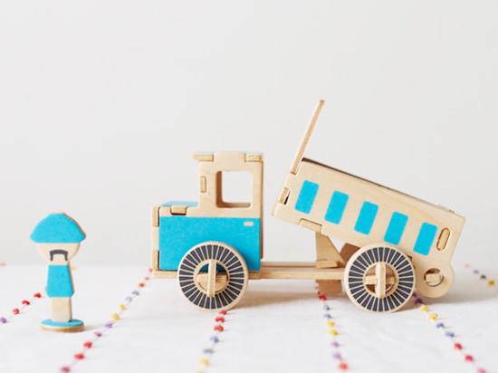 工作おもちゃ DUMP TRUCK/twelvetone