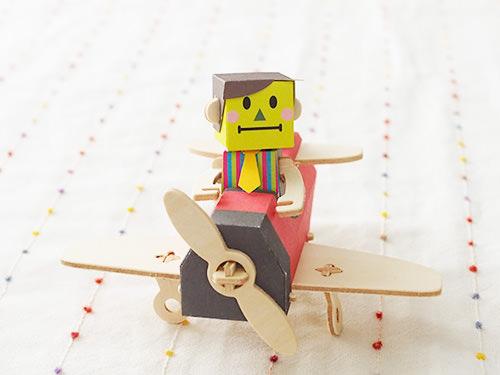 工作おもちゃ KENJI&AIRPLANE / twelvetone