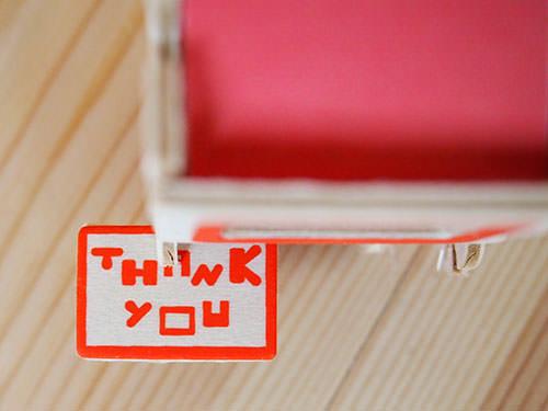"""工作キット Greeting """"Thank You"""""""
