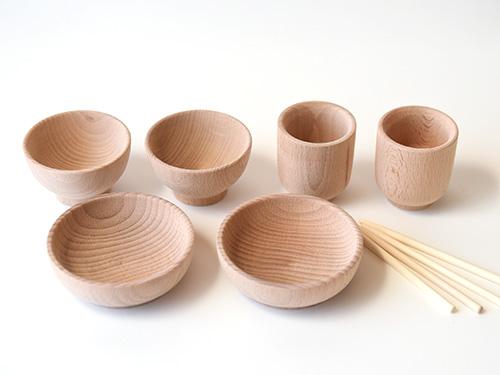 お食事セット/木遊舎